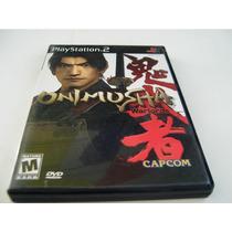 Ps2 Onimusha 1 Playstation La Coleccion Warlords Capcom