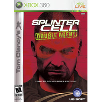 Splinter Cell Double Agent Limited Edition Xbox 360
