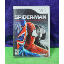 Wii Spider-man Shattered Dimensions