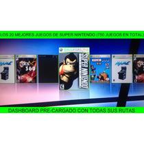 Los 20 Mejores Juegos De Super Nintendo Para Xbox 360 Rgh