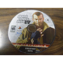 Grand Theft Auto Iv 4 Para Ps3 Playstation 3