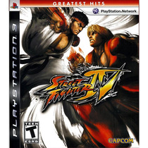 Street Fighter Iv Ps3 Videojuego En Caja Sellado Greatest Hi