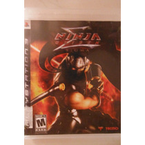 Ps3 Playstation Ninja Gaiden Zigma Accion Aventura Anime