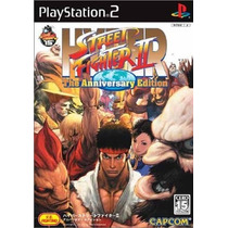 Hyper Street Fighter 2 The Anniversary Edition Ps2 Japones