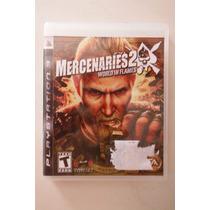 Ps3 Playstation Mercenaries World In Flames Aventura Accion