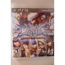 Ps3 Playstation Blazblue Continuum Shift Accion Pelea Anime