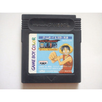 One Piece Anime Yume No Luffy Kaizokudan Tanjou Game Boy