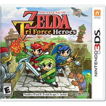 The Legend Of Zelda: Triforce Heroes Para Nintendo 3ds