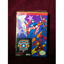 Capitan America And The Advengers Nes Nintendo Caja