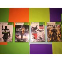 Juegos Nuevos Xbox 360 (mw3,battlefield 3,gearswar 3,batman)