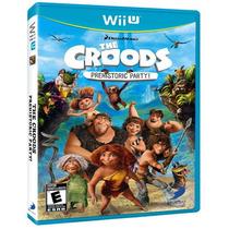 The Croods Prehistoric Party Nintendo Wii U Nuevo Y Sellado