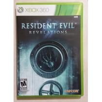 Resident Evil Revelations Xbox 360 En Excelentes Condiciones