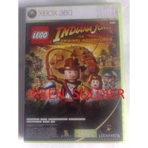 Indiana Jones The Original Adventures + Kung Fu Panda Xbox