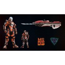Halo 5 Pack Armadura, Emblema Y Skins (5 Articulos)
