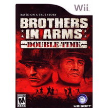 Videojuego Wii Brothers In Arms Double Time Envio Gratis Dhl