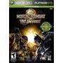 Mortal Kombat Vs Dc Universe Xbox 360 Sellado Y Nuevo