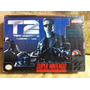 Terminator 2 Judgment Day Super Nintendo Snes Solamente Caja