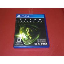 * Longaniza Games * Ps4 Alien Insolation (español)