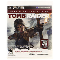 Ps3 - Tomb Raider Game Of The Year Edition - Nuevo - Ag