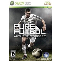 Pure Futbol: Authentic Soccer - Xbox 360 +++