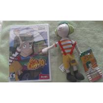 El Chavo Wii + Peluche De El Chavo Originales