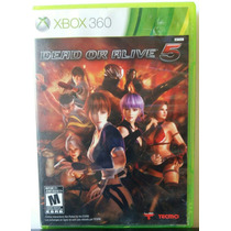 Dead Or Alive 5 Para Xbox 360 Seminuevo.