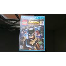Lego Batman 2 Wii U Nuevo, Sellado