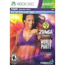 Zumba Fitness World Party Xbox 360 Nuevo Y Sellado