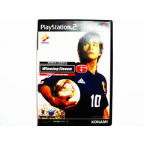 Winning Eleven 6 Final Evolution Japones Ps2 - Playstation 2
