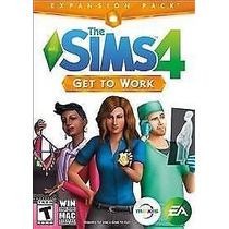 Sims 4 Get To Work Físico Sellado Nuevo
