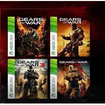 Gears Of War 1,2,3,judment Xbox 360,one