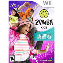 Zumba Kids Videjuego Wii Nuevo En Caja Gaming Nintendo