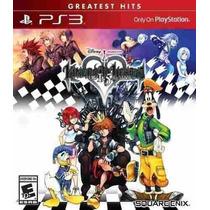 Kingdom Hearts 1.5 Hd Remix Caja Roja Nuevo Y Sellado