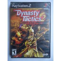 Dynasty Tactics 2 Para Playstation 2 Ps2 Completo Raro Ofert