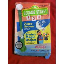 Sesame Street 1 2 3 Nintendo Nes Solamente Caja