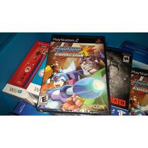 Megaman X Collection Ps2 Nuevo Y Sellado