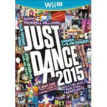 Just Dance 2015 Wii U Nintendo Sellado Nuevo En Caja