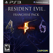 Resident Evil Franchise Pack Ps3 :videojuegos Ordex: