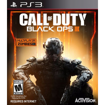 Ps3 Cod Black Ops 3 Para Playstation 3, Nuevo Y Sellado.