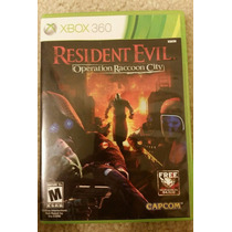 Resident Evil Operation Raccoon City Xbox 360 Buen Juego Rh