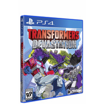 Transformers Devastation Ps4 Nuevo Blakhelmet Sp