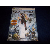 Shadowrun Juego Pc Windows Nuevo Sellado Original Microsoft