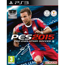 Pes 2015 Ps3 + Exclusive Pack Digital
