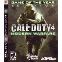 Call Of Duty 4 Modern Warfare Game Year Ps3 Nuevo Citygame