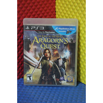 Lord Of The Rings Aragorns Quest Para Ps3 [ Spiralgames ]