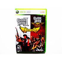Guitar Hero Dual Pack Nuevo - Xbox 360 (gh Ii Y Aerosmith)
