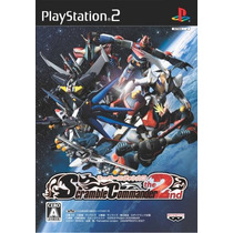 Super Robot Wars Scramble Commander The 2nd Ps2 Japones