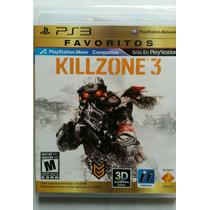 Killzone 3 Sony Ps3 Nuevo Sellado Original En Español