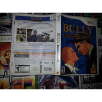 Bully Schol Arship Edition Para Wii