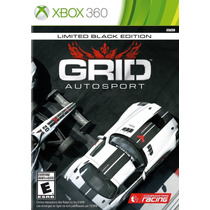 Grid Autosport Limited Black Edition Xbox 360 Nuevo Citygame